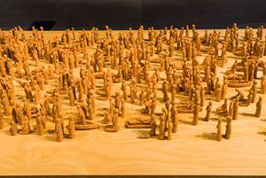 People's Desire by Sawangwongse Yawnghwe contemporary artwork
