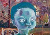 Celestial diners I by Ndidi Emefiele contemporary artwork 2