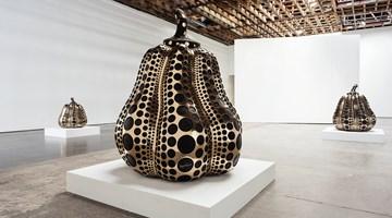 Contemporary art exhibition, Yayoi Kusama, Solo Exhibition at Victoria Miro, Wharf Road, London
