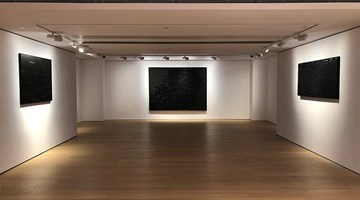 Contemporary art exhibition, Pierre Soulages, Beyond Black 超越黑色 at Alisan Fine Arts, Hong Kong