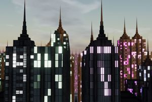Imaginary Cities — NYC (11062471656) by Michael Takeo Magruder contemporary artwork
