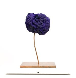 Eponge Bleue, SE 313 by Yves Klein contemporary artwork