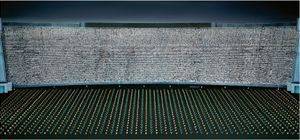 Pyongyang III by Andreas Gursky contemporary artwork photography