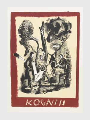 Kogni by Neo Rauch contemporary artwork