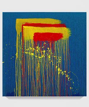 Untitled XXV by Pat Steir contemporary artwork