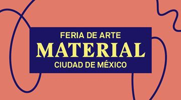Contemporary art exhibition, Material Art Fair 2020 at Galería OMR, Mexico City