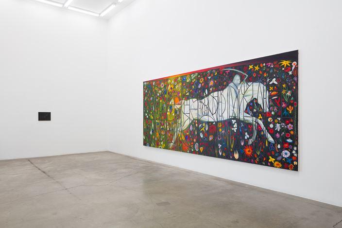 Exhibition view: Srijon Chowdhury,A Divine Dance, Anat Ebgi, Los Angeles (2 November–14 December 2019). Courtesy Anat Ebgi.
