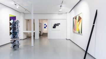 Contemporary art exhibition, Group exhibition, hard edge at galerie Denise René, Espace Marais, Paris