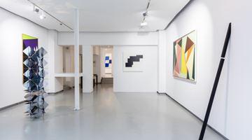 Contemporary art exhibition, Group exhibition, hard edge at galerie Denise René, Espace Marais, Paris