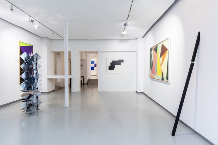 Exhibition: hard edge, galerie denise rené (12 March–2 May 2020). Courtesy galerie denise rené.