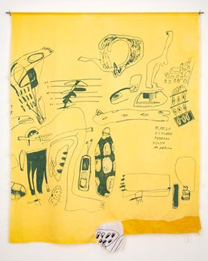 Months (Yellow) by Cristina Umaña contemporary artwork