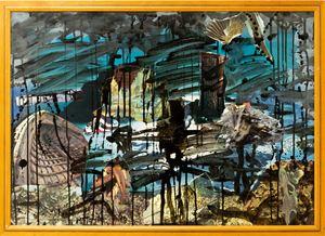 Black Moonlight by Michael Taylor contemporary artwork