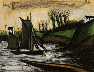 Bateau de pêche by Bernard Buffet contemporary artwork