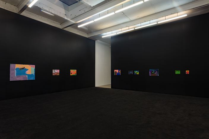 Exhibition view: Walter Price, Pearl Lines, The Modern Institute, Aird's Lane, Glasgow (13 November 2020–16 January 2021). Courtesy the Artist and The Modern Institute/Toby Webster Ltd, Glasgow.Photo: Patrick Jameson.
