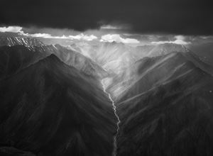 The eastern part of the Brooks Range, the Arctic National Wildlife Refuge, Alaska, USA by Sebastião Salgado contemporary artwork