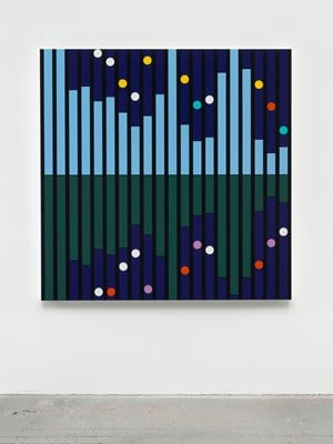 Another World [Sound Graph] by Sarah Morris contemporary artwork