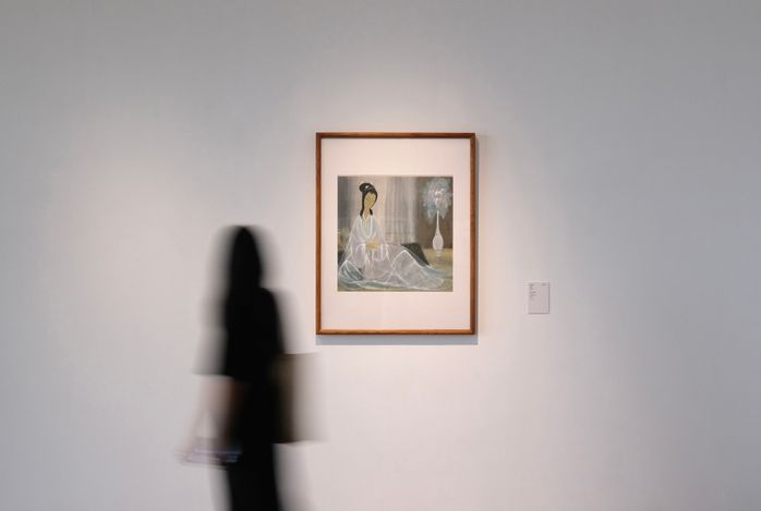 Exhibition view: Modern Chinese Art from HEM Collection, Transformation: from poetic to realistic, He Art Museum, Guangdong (1 July–10 October 2021). Courtesy He Art Museum.