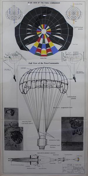 Parachute Canopy Project by Yukihisa Isobe contemporary artwork