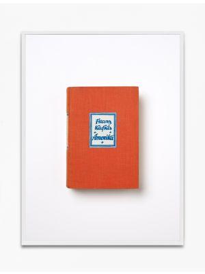 Franz Kafka, Amerika, 1927, Kurt Wolff Verlag, München by Annette Kelm contemporary artwork