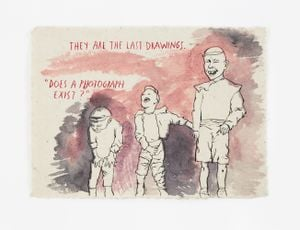 No Title (They are the...) by Raymond Pettibon contemporary artwork