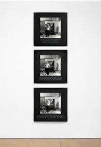 Framed by Modernism by Carrie Mae Weems contemporary artwork photography