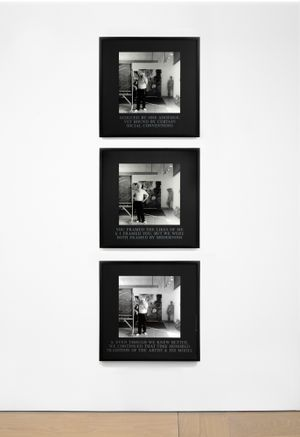 Framed by Modernism by Carrie Mae Weems contemporary artwork