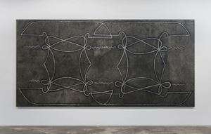 Untitled (FCSDFPIV) by Daniel Boyd contemporary artwork