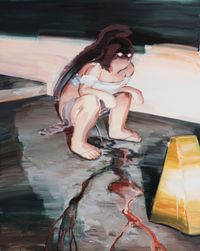 Night Freaks - Pop a Squat by Eunsae Lee contemporary artwork painting