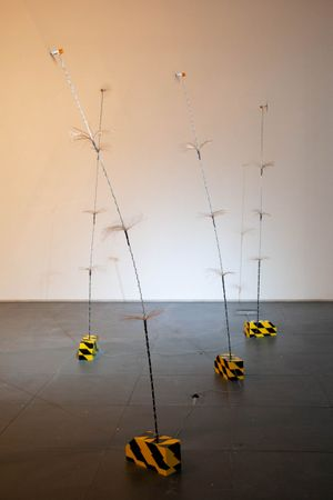 Waggle by Andrew Luk & Samuel Adam Swope contemporary artwork
