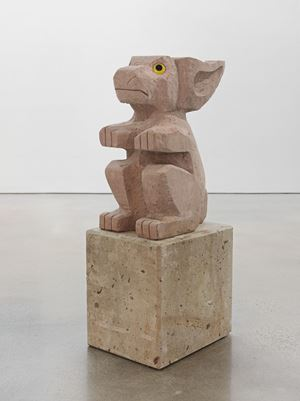 Sad and worried animals/ Rabbit by Olaf Breuning contemporary artwork