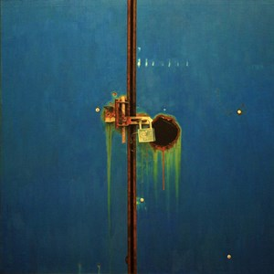 Une porte bleue 藍色的門 by Chen Jianzhong contemporary artwork