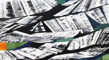 Contemporary art exhibition, Ricardo Mazal, Kailash: Black Mountain at Sundaram Tagore Gallery, Singapore
