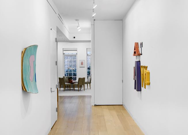 Exhibition view: Group exhibition, At Dawn, Cheim & Read, New York (10 September–3 October 2020). Courtesy Cheim & Read.