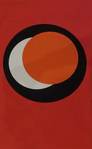 st cercles by Geneviève Claisse contemporary artwork