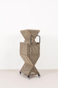 Sonic Clotheshorse #10 by Haegue Yang contemporary artwork sculpture