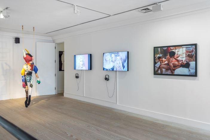 Exhibition view: Group Exhibition, It's Not Me, It's You, Gazelli Art House, London (24 May–29 June 2019). Courtesy Gazelli Art House and Deniz Guzel.