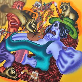 Peter Saul contemporary artist