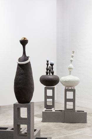 Exhibition view: Alexandra Standen,Physical Nature, THIS IS NO FANTASY dianne tanzer + nicola stein, Melbourne (5–29 February 2020). Courtesy THIS IS NO FANTASY dianne tanzer + nicola stein.