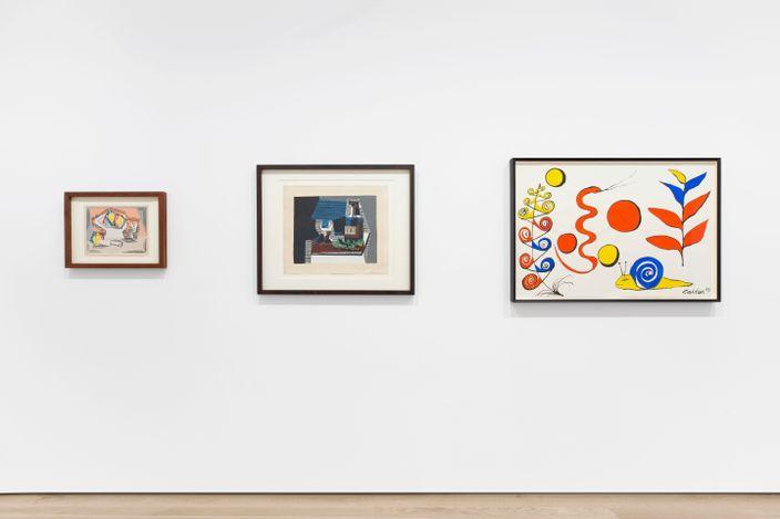 Exhibition view: Tom Wesselmann, Still Life, Almine Rech, Avenue Matignon, Paris (10 March—10 April 2021). © Tom Wesselmann. Courtesy the Artist and Almine Rech.Photo: Ana Drittanti.