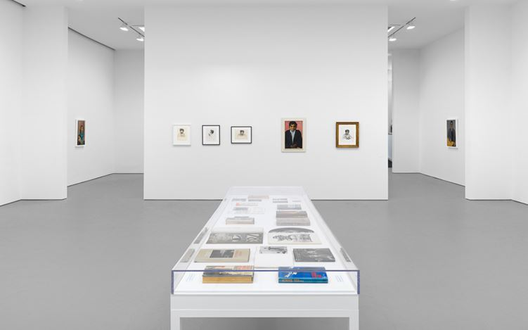 Exhibition view: Alice Neel, Uptown, David Zwirner, 19th Street, New York (23 February–22 April 2017). Courtesy David Zwirner, New York.
