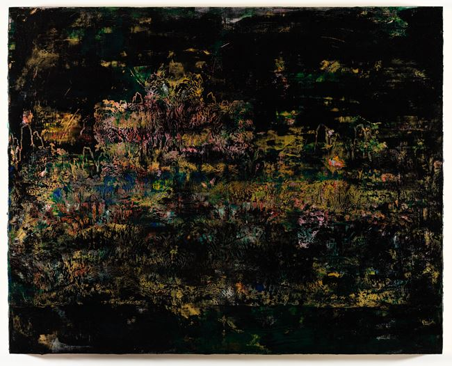 Travelers Among Mountains and Streams in Dark by Su Meng-Hung contemporary artwork