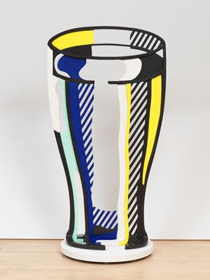 Glass V by Roy Lichtenstein contemporary artwork