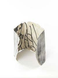The Girl in the Box by Ghada Amer contemporary artwork sculpture