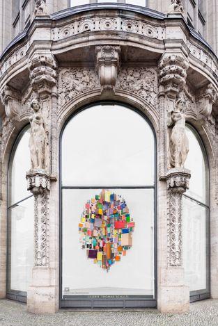 Exhibition view: Abraham Cruzvillegas, Galerie Thomas Schulte, Berlin (15 September–6 November 2021). Courtesy Galerie Thomas Schulte. Photo:Stefan Haehnel.