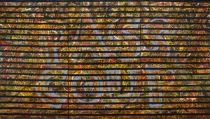 BLINDS: PASS COUP by Chandraguptha Thenuwara contemporary artwork