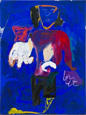 helpful hands (lost in a lake) by Tom Polo contemporary artwork