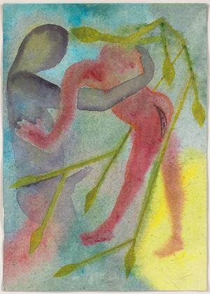 A Story Well Told I by Francesco Clemente contemporary artwork