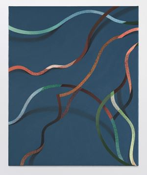 Saeben by Tomma Abts contemporary artwork