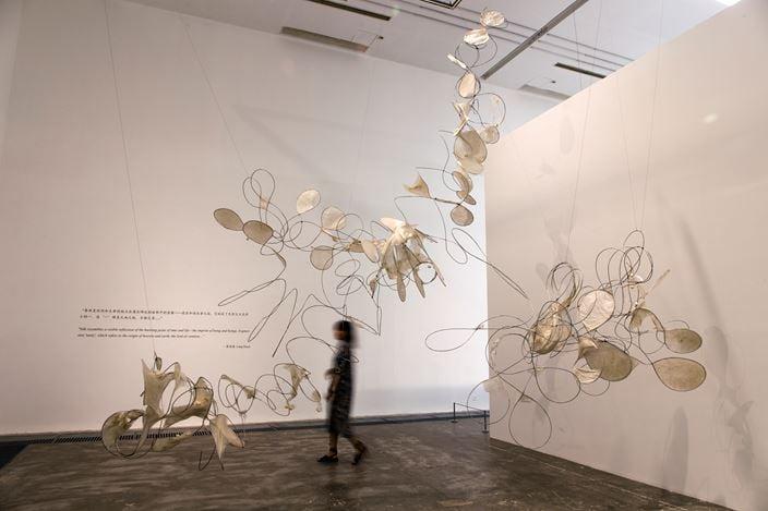 Exhibition view: Geng Jianyi, Liang Shaoji and Apichatpong Weerasethakul, Artist Trio Show,ShanghART, Beijing (13 July–25 August 2019). CourtesyShanghART.