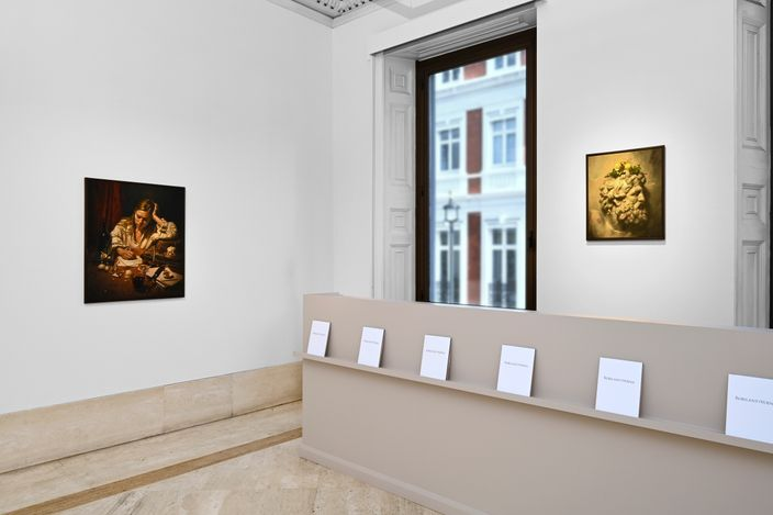 Exhibition view: Stephen Appleby-Barr, New Work, Robilant+Voena (12 April–15 May 2021). Courtesy Robilant+Voena.